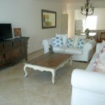 palma real condo for rent living room