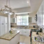 punta cana villa for rent kitchen