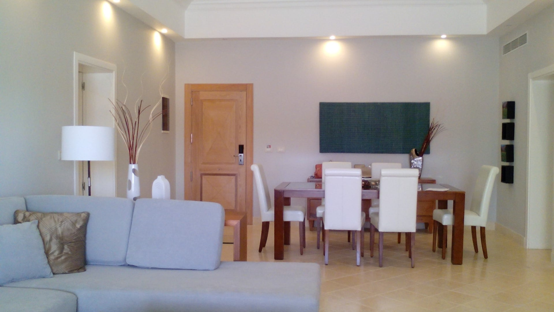 cap cana condo for rent dining room