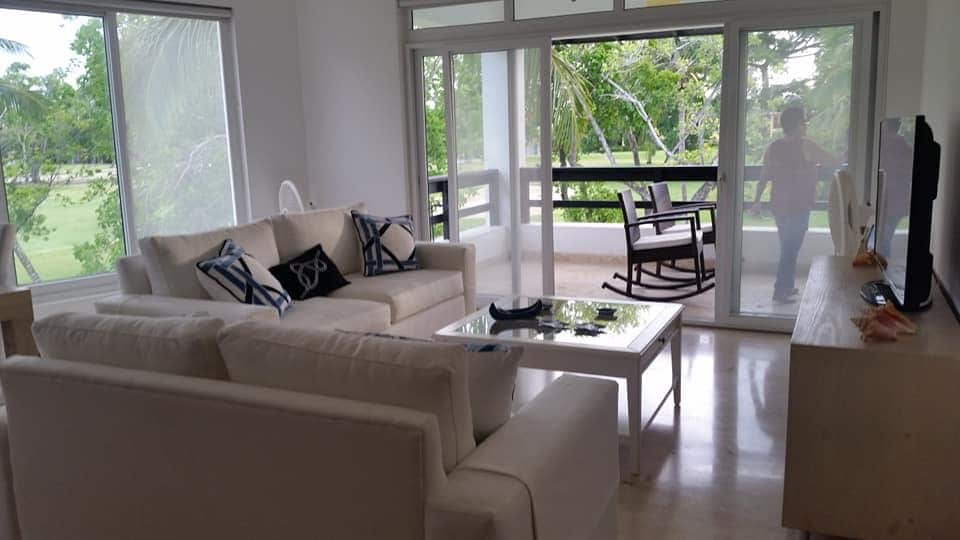 cocotal condo for rent living room