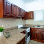 palma real villas condo granite counter tops