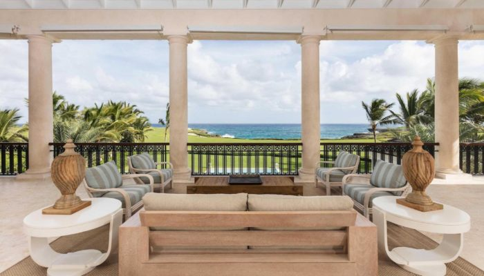 punta cana villa view from second floor